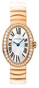 The mini size fake Cartier Baignoir WB520026 watches for your mother.