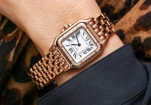 The noble replica Panthère De Cartier WJPN0008 watches are designed for females.