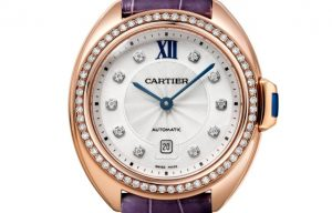 The 31 mm replica Clé De Cartier WJCL0038 watches have silver-plated dials.