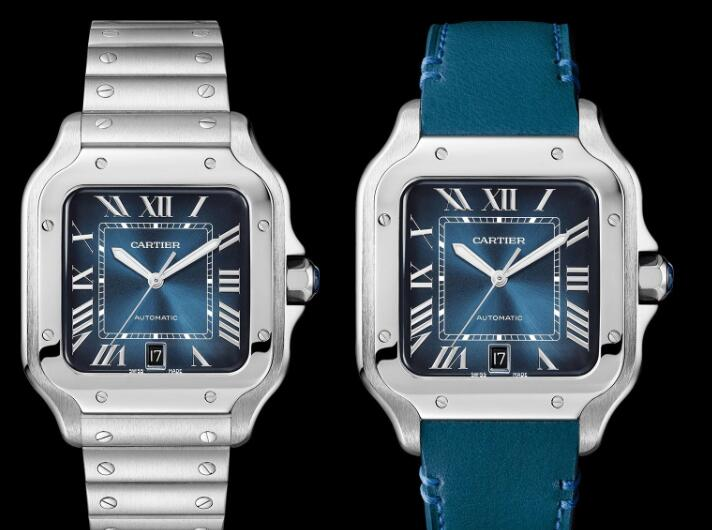 The Roman numerals hour markers ensure the ultimate legibility.