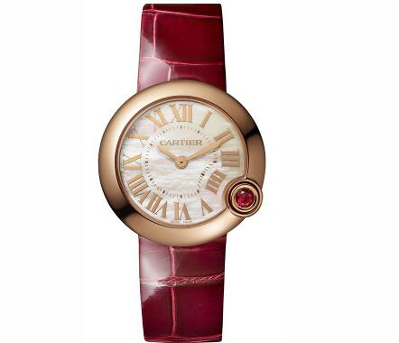 The Ballon Bleu De Cartier fake watches look passionate and charming.