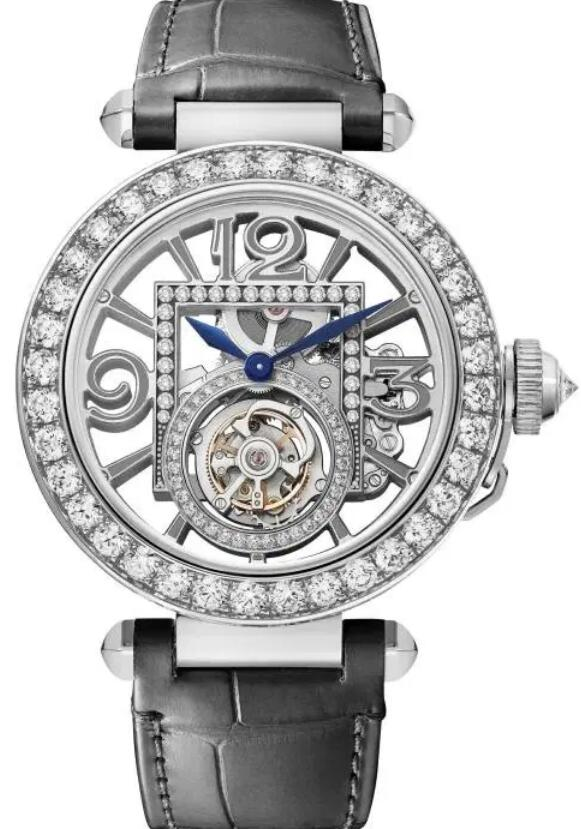 Swiss-made duplication watches are fixed with diamonds.