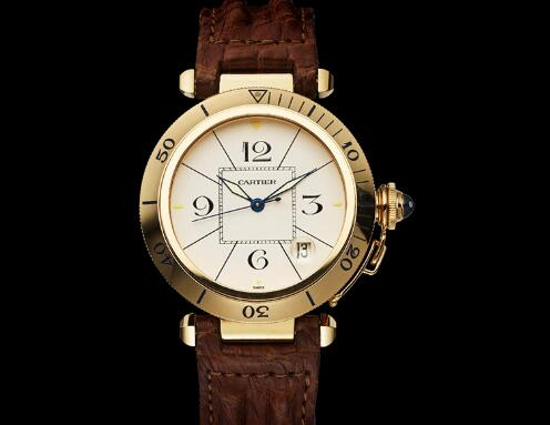 The Pasha de Cartier fake watch is with high cost performance.