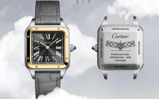 The iconic elements endow the fake Cartier with eye-catching appearance.