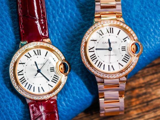 The best fake Ballon Bleu de Cartier watches are best choice for women.