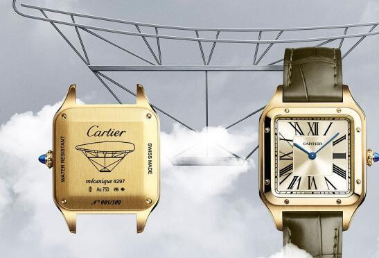 The Cartier Santos-Dumont fake watches are good choices for men.