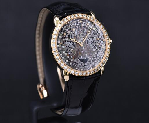 The diamonds and mother-of-pearl dials look more charming and dazzling.